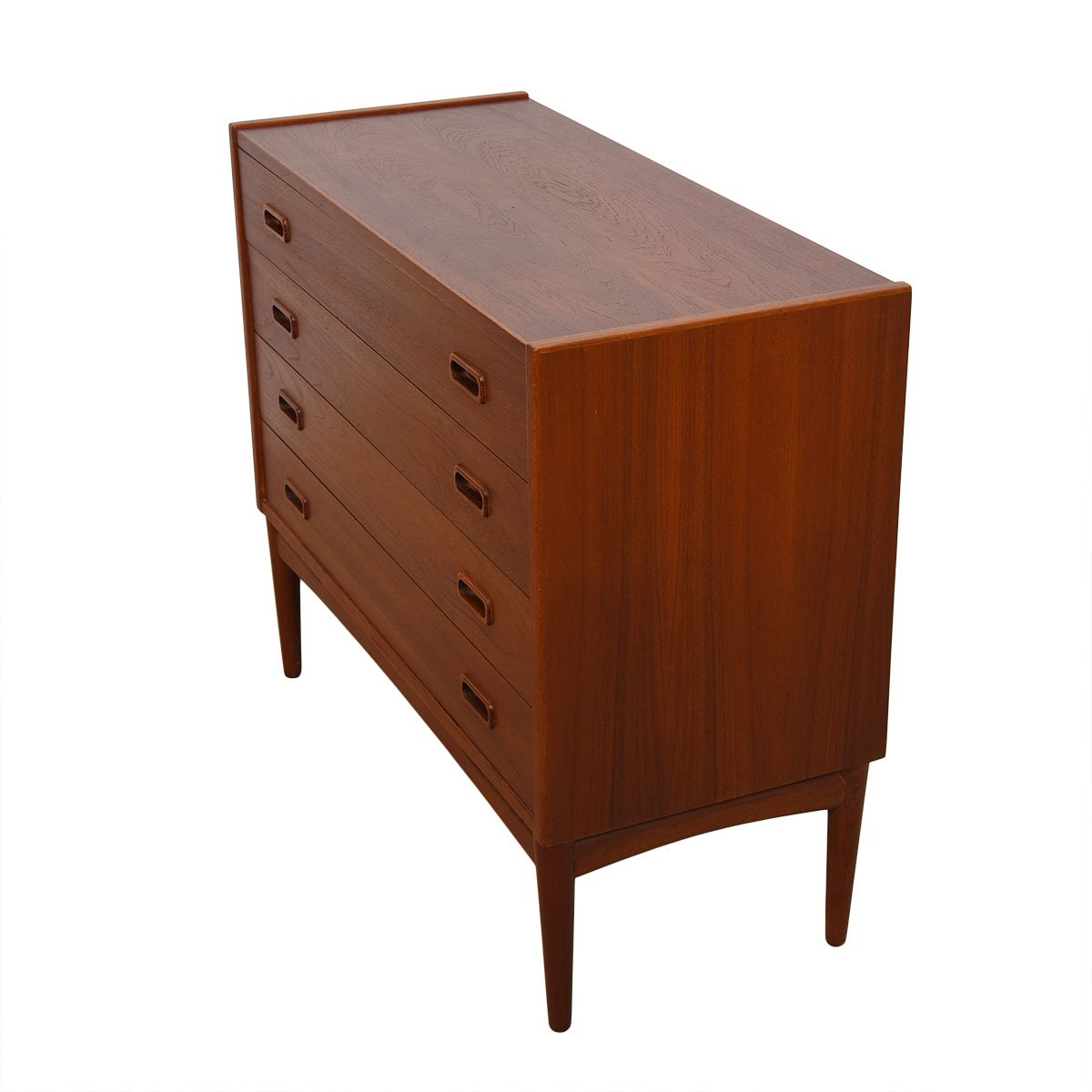 Arne Hovmand-Olsen for Mogens Kold Teak Petite Chest on Stand