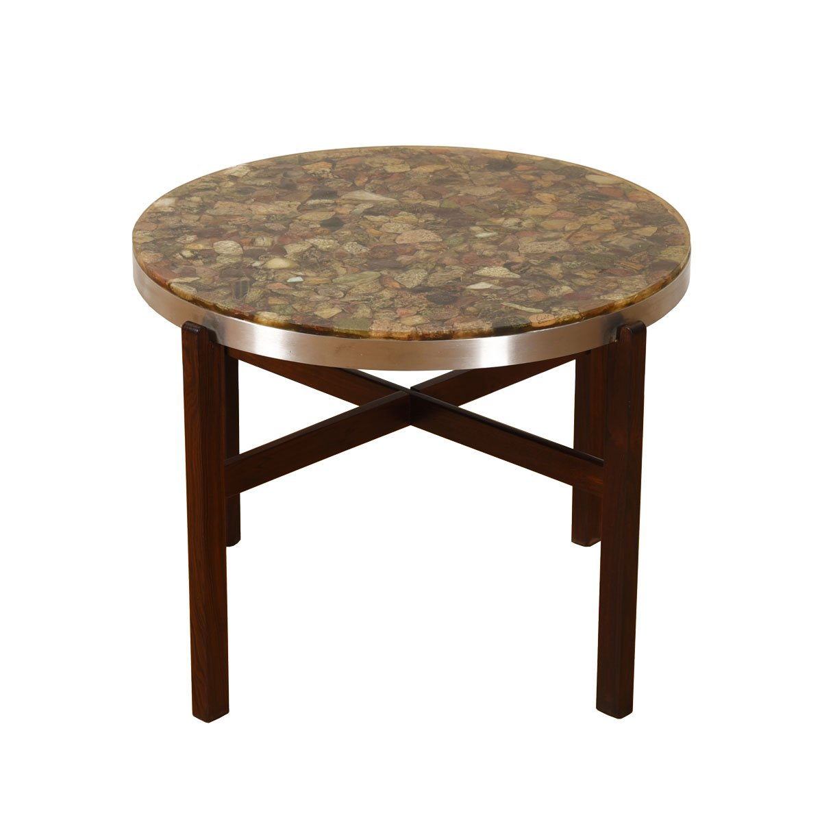 Round Decorator Accent / Small Coffee Table.