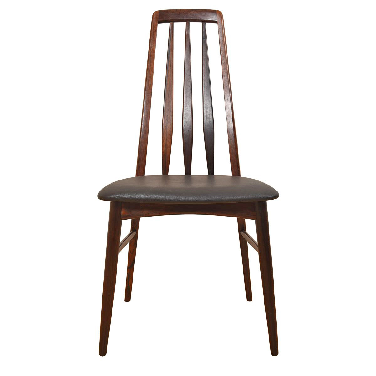 Danish Modern Rosewood Set of 8 Dining Chairs
