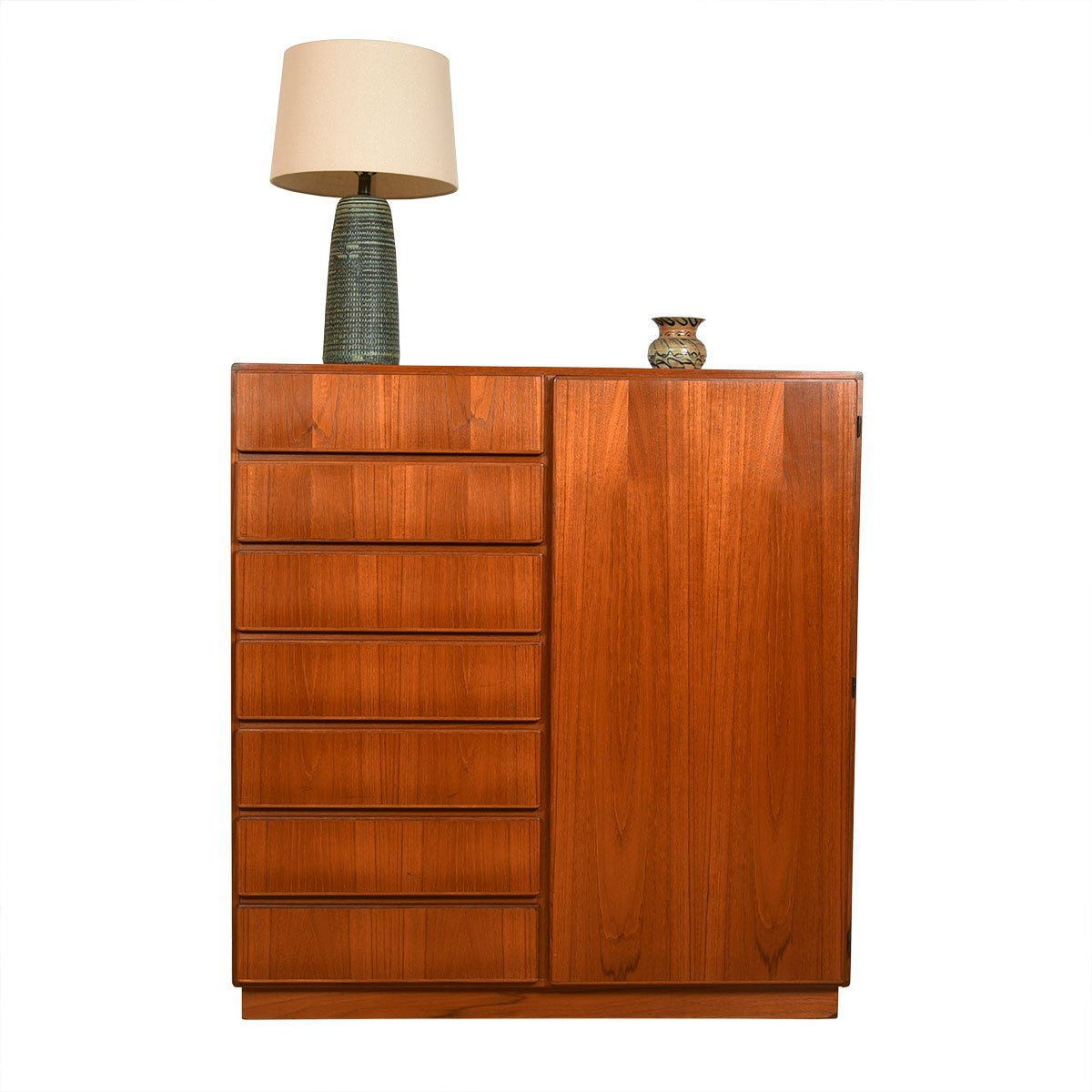 KOMFORT Danish Teak Storage 'Gents' Chest / Dresser