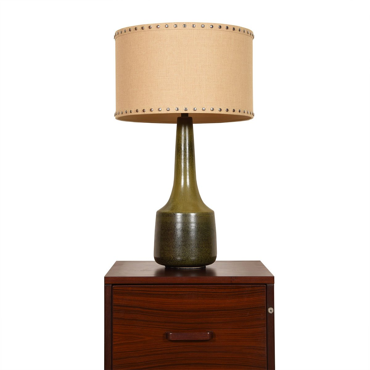 Ceramic Mid Century Table Lamp by Bostlund
