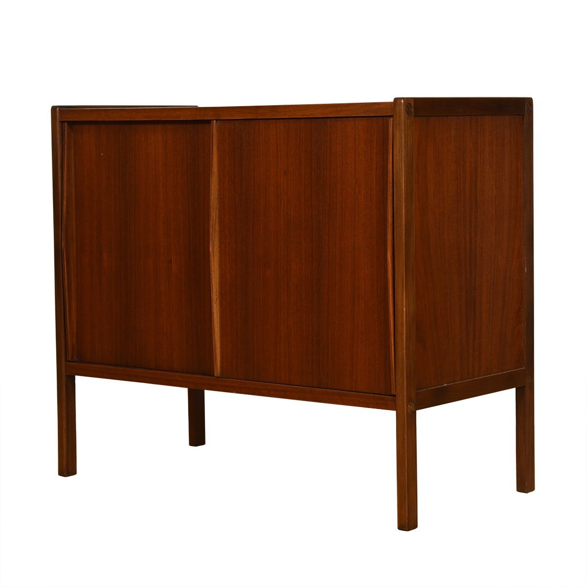 Compact Swedish Modern Cabinet in Walnut by Dux