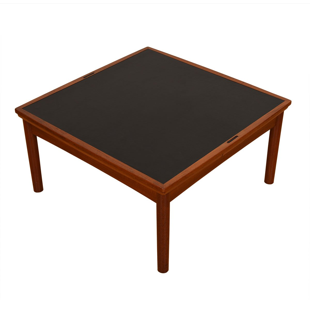 Danish Modern Teak Expanding Flip-Top Coffee Table.