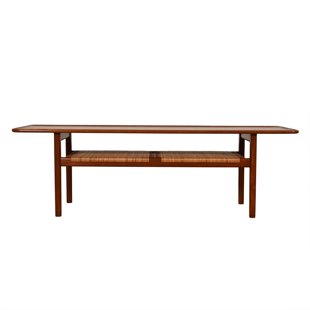 Hans Wegner for Andreas Tuck Danish Teak Coffee Table thru Illums Bolighus