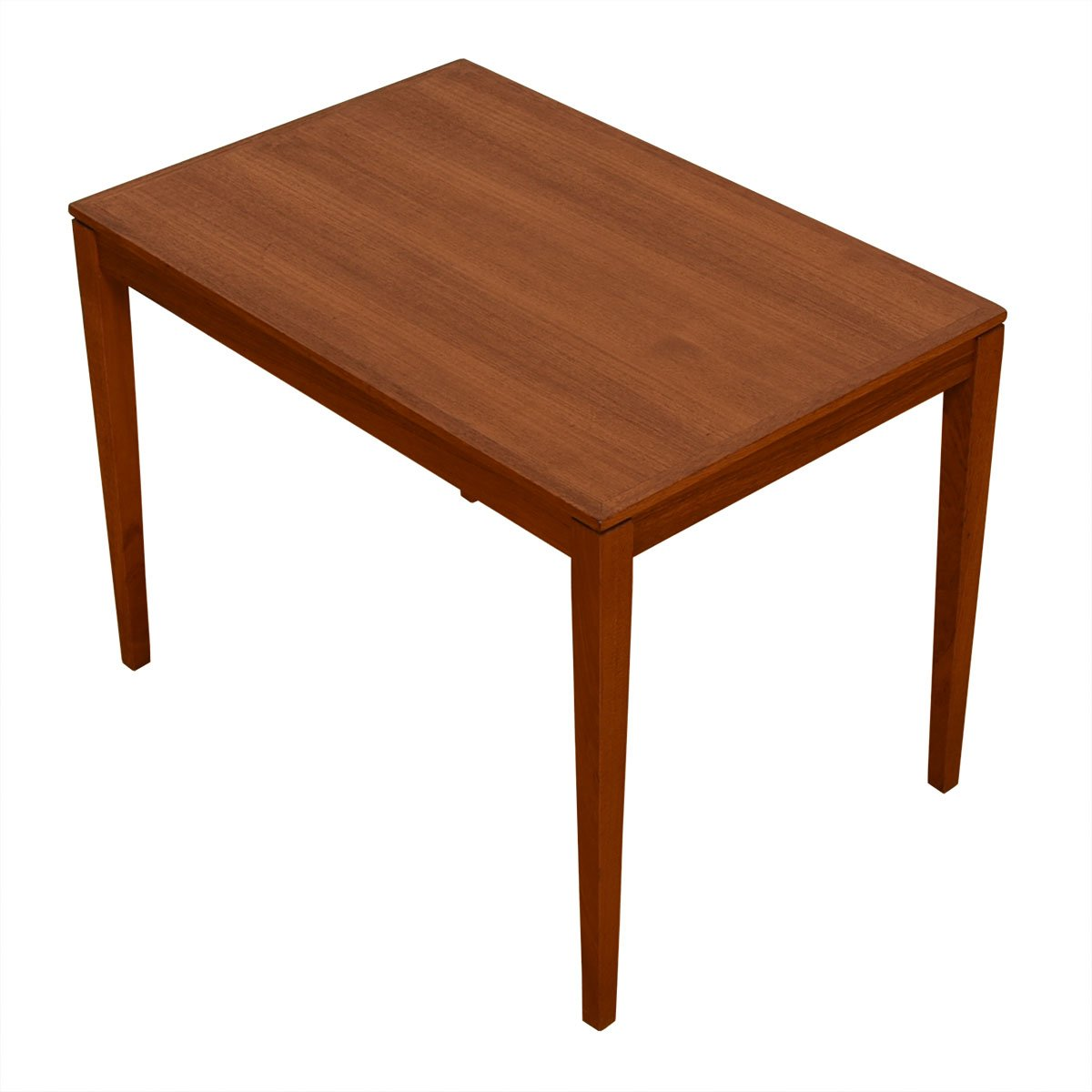 Danish Modern Teak Rectangular Accent / End Table