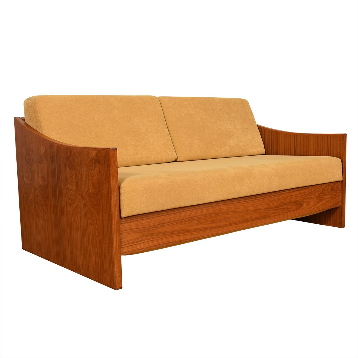 Danish Modern Teak Expanding Daybed.