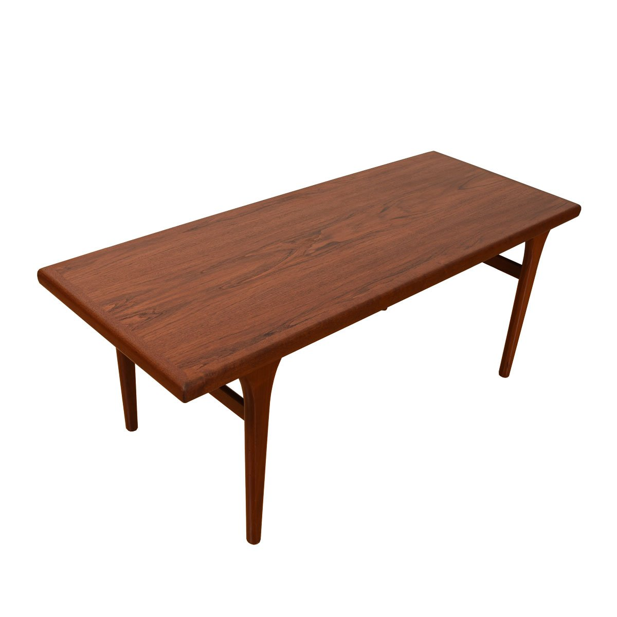 Danish Modern Tall Teak Coffee Table — Dinner at the Sofa?