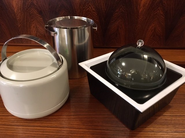 Large Selection of Mid-Century Modern & Danish Modern Ice Buckets