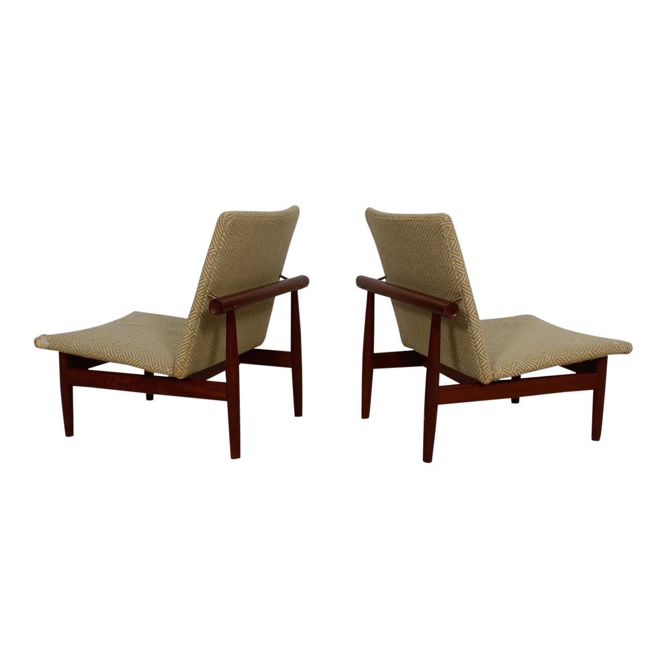 Finn Juhl Pair of Teak 'Japan' Chairs