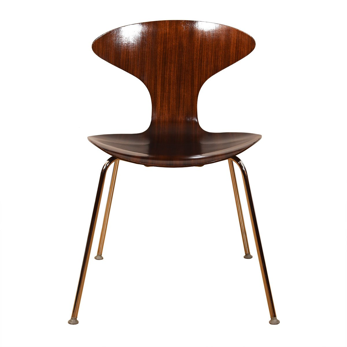 Cherner Style Walnut Bentwood Accent Chair