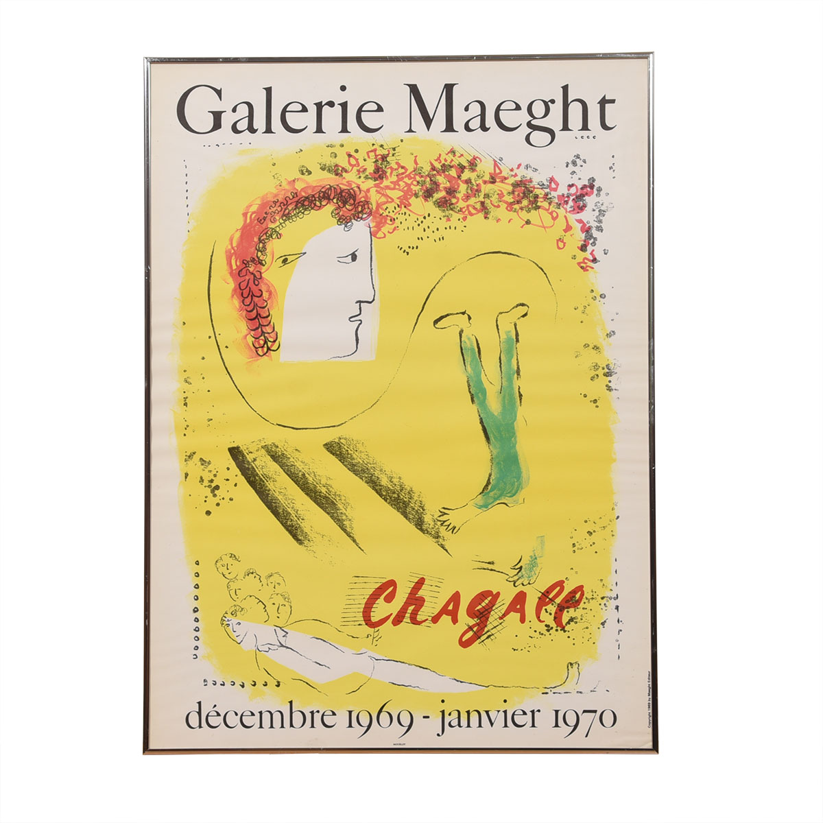 Galerie Maeght Chagall Exhibition Poster