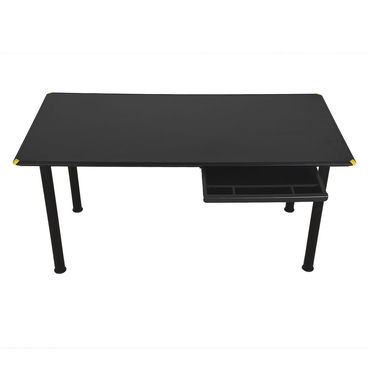 Minimalist Herman Miller Matte Black Desk w/ Single Drawer