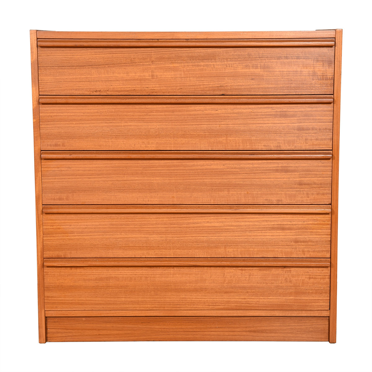 Danish Teak 5-Drawer Dresser
