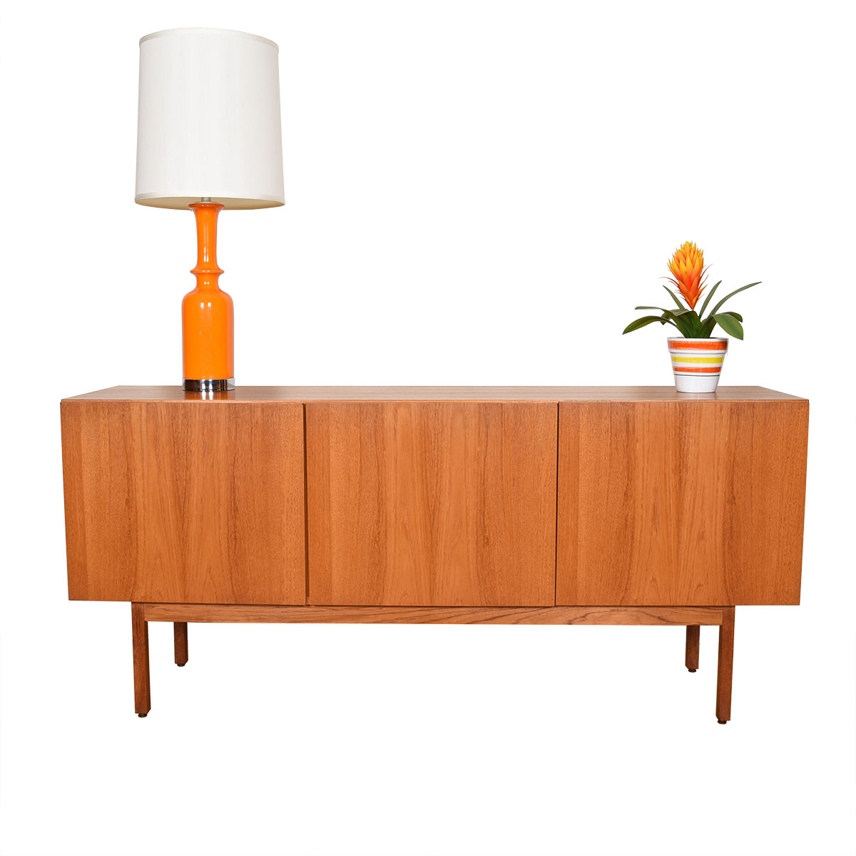 Danish Modern Teak 3 Door Sideboard / Room Divider