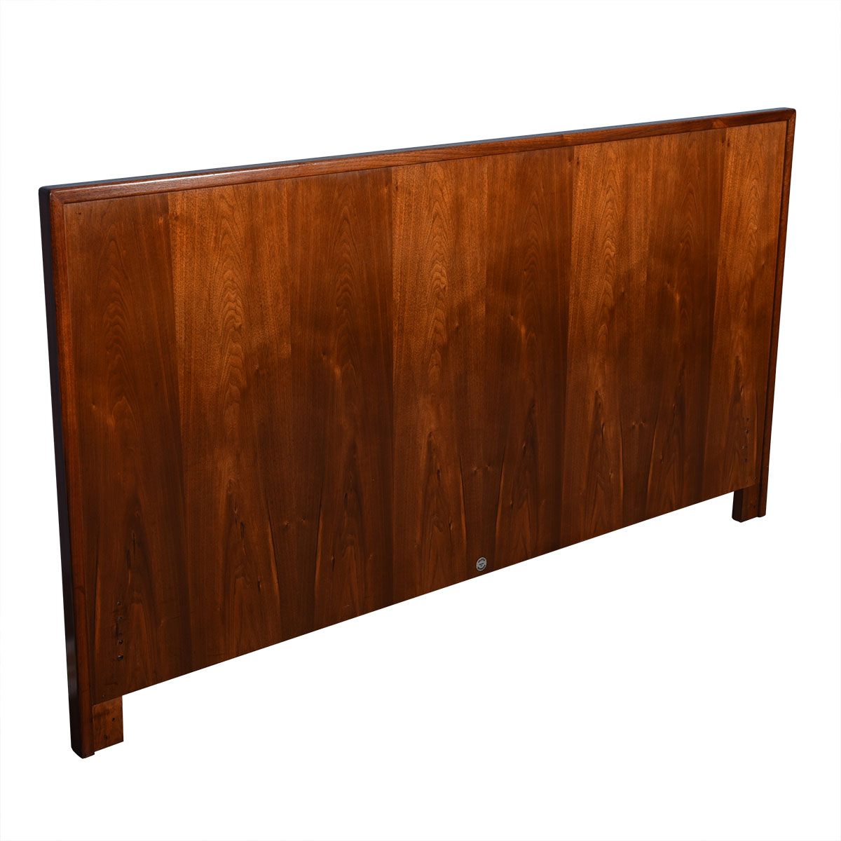 Danish Queen-Sized Walnut Headboard by Falster