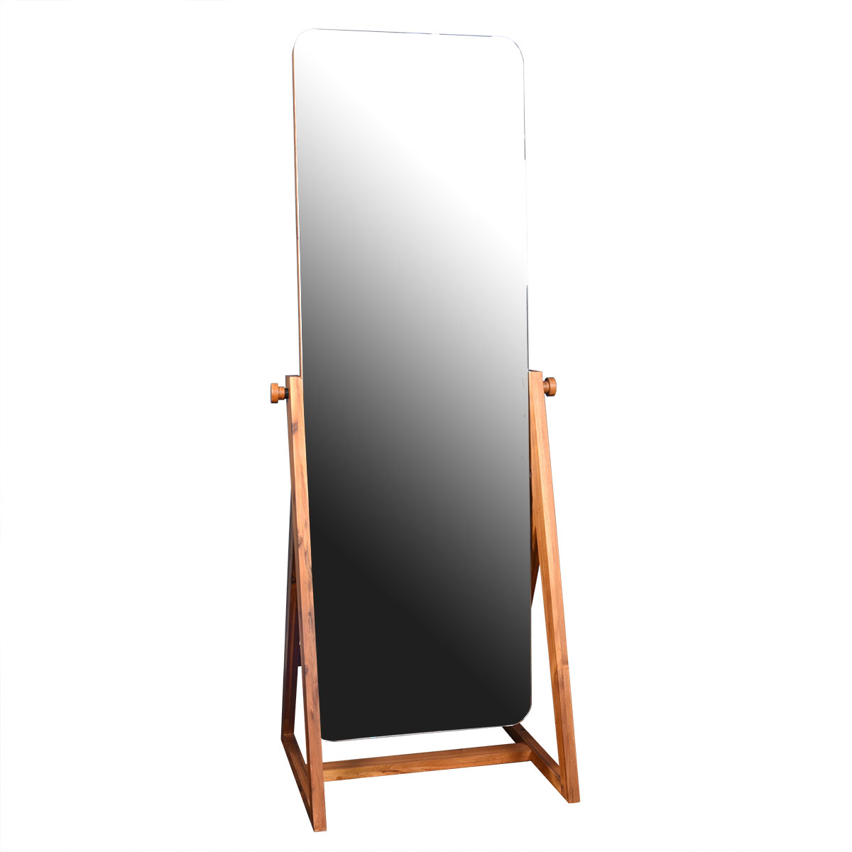 Stylish Solid Modern Oblong Tall Cheval Floor Mirror
