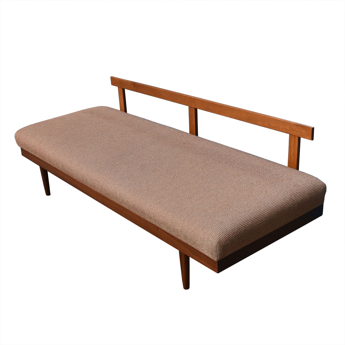 Danish Modern Teak Long Daybed w/ Storage
