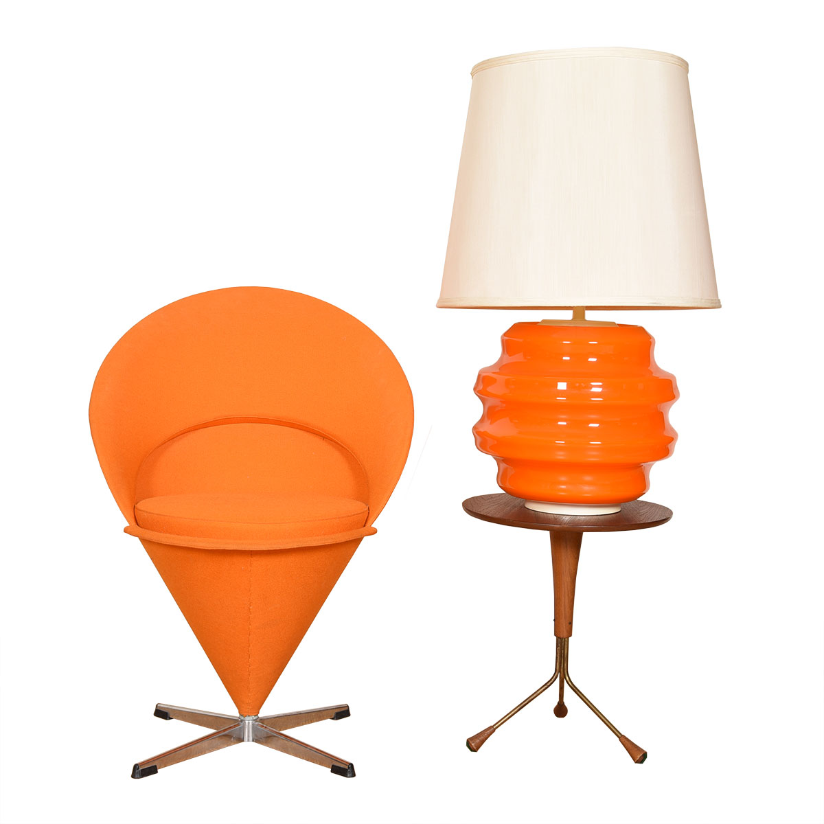 Verner Panton — The Cone Chair — A Danish Classic!