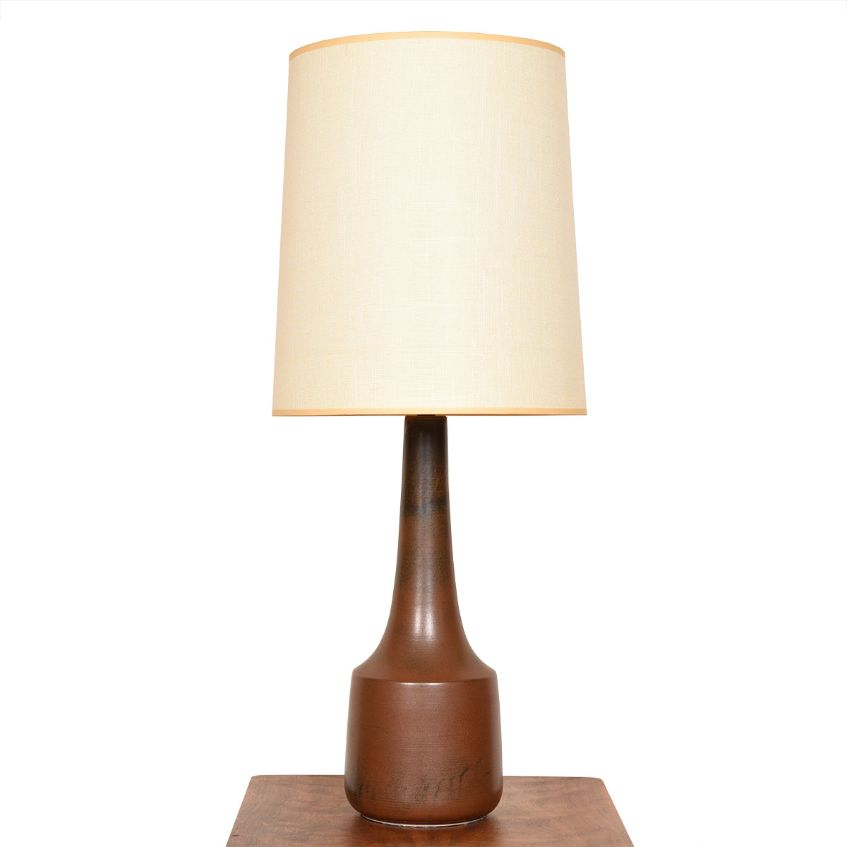 Mid Century Modern Pottery Table Lamp by Bostlund