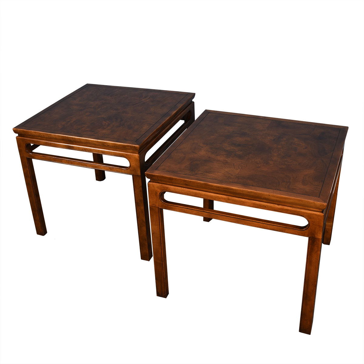 Pair of Baker Mid Century Side / Occasional Tables
