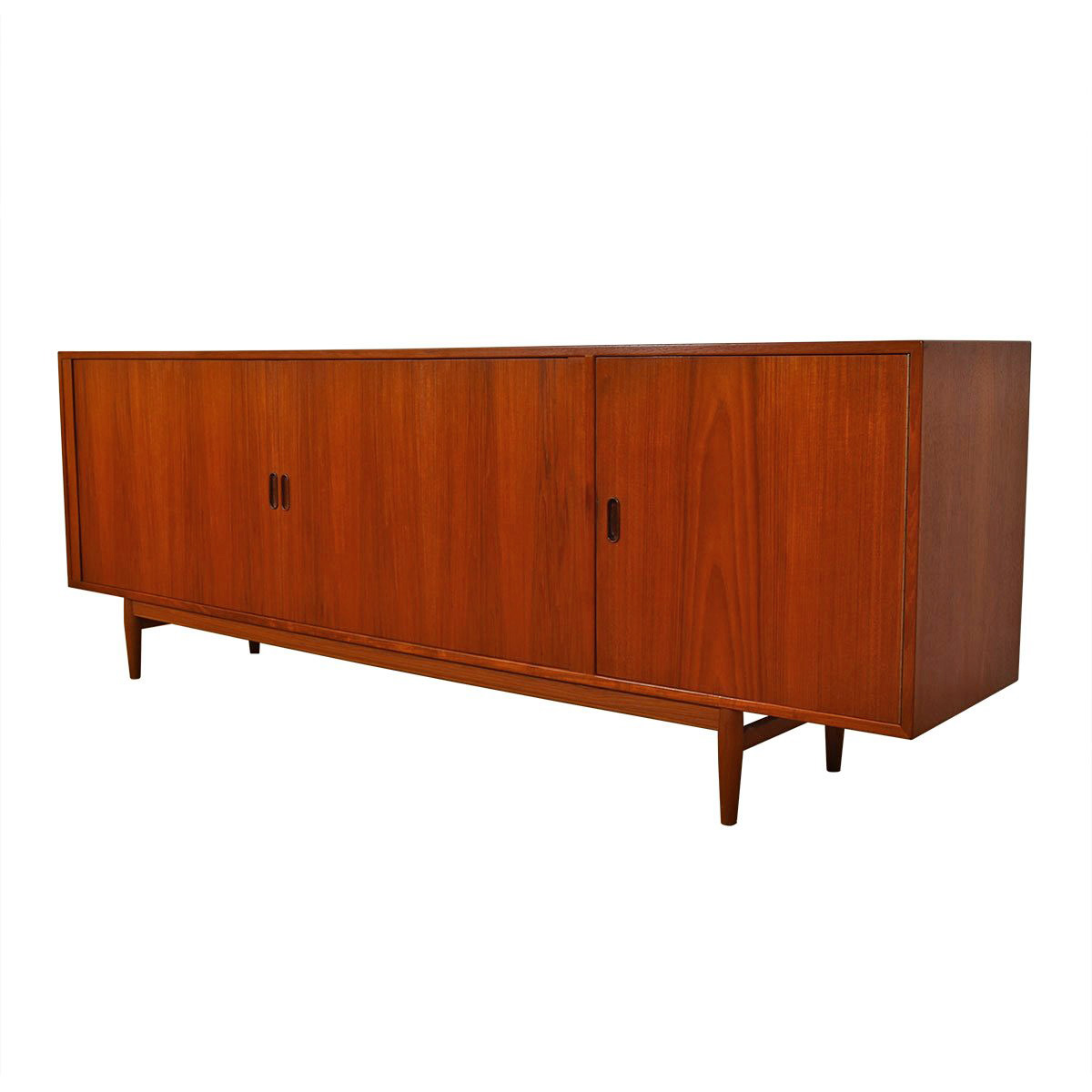 Arne Vodder Danish Teak Tambour Door Sideboard / Room Divider.