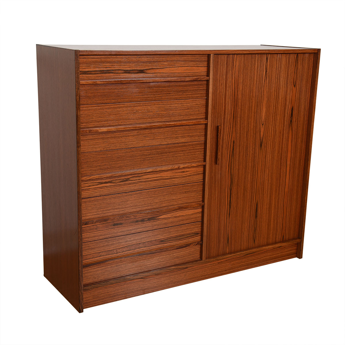 Scandinavian Modern Gentleman's Chest / Dresser