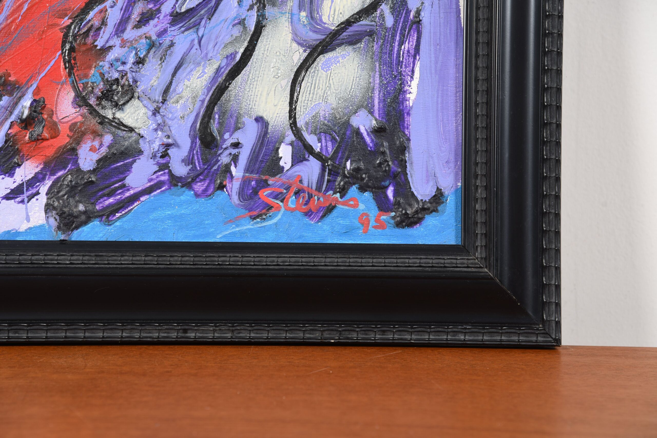 Small Abstract Expressionist Style Painting