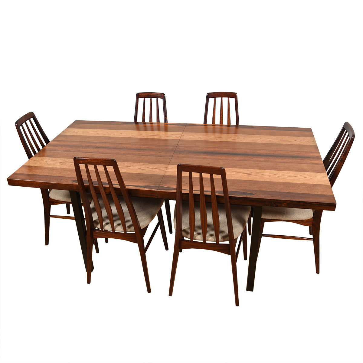 Milo Baughman for Dillingham — American Modernist Expanding Dining Table