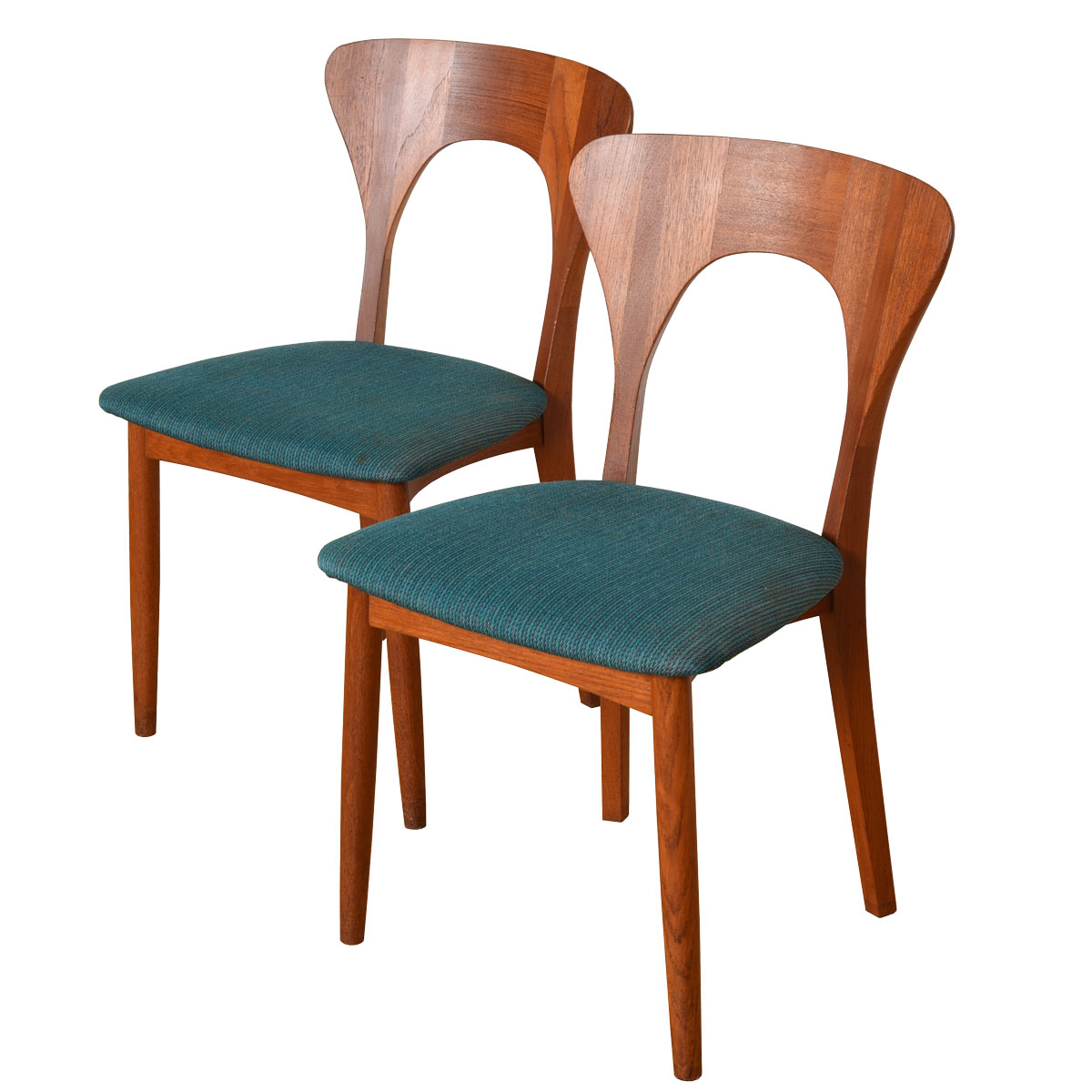 "Pair of ""Peter"" Chairs by Niels Koefoeds Hornslet"