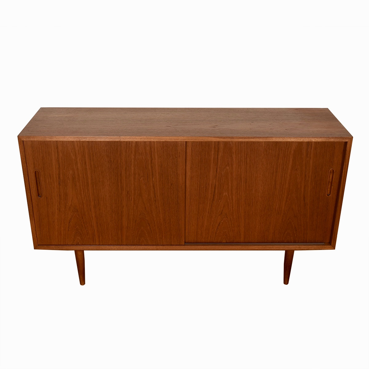 Condo-Sized 55″ Sideboard / Media Cabinet in Teak