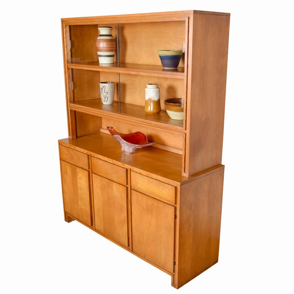2-Piece Conant Ball Storage / Display Cabinet