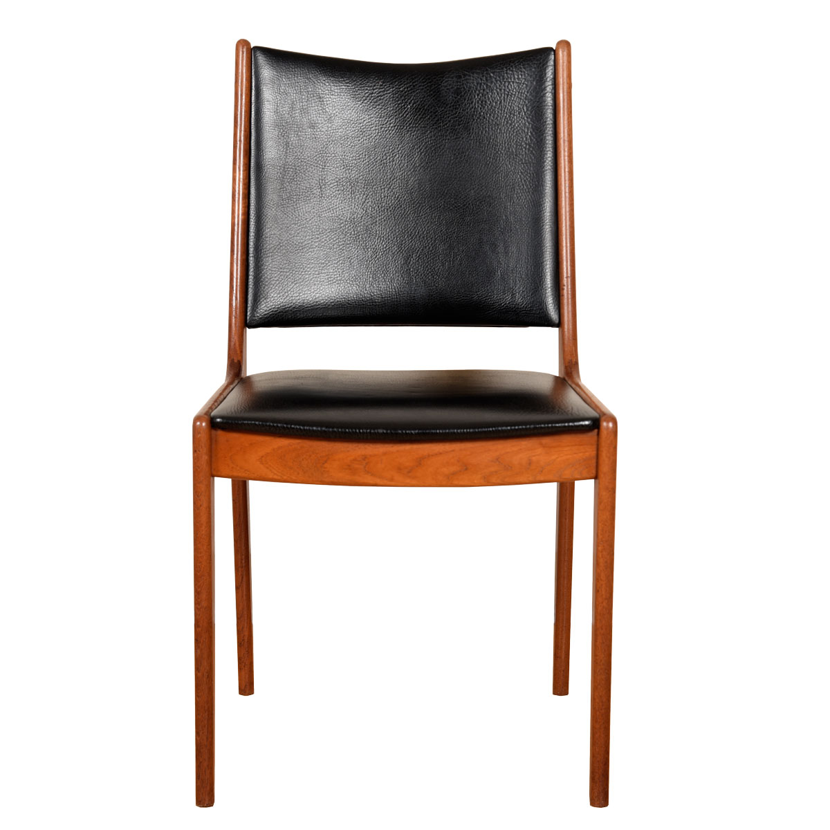 Set of 4 Johannes Andersen Danish Teak Dining Chairs for Uldum Mobelfabrik