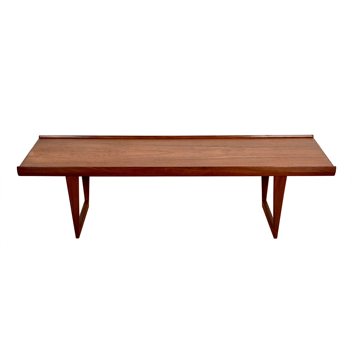 Danish Modern Teak Bench / Coffee Table by Lovig