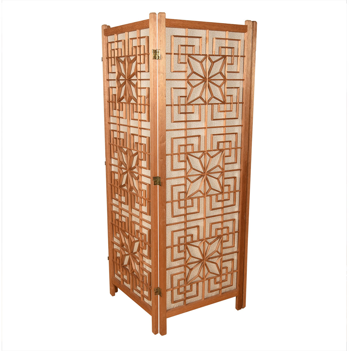 Mid Century Modern Patterned Room Divider