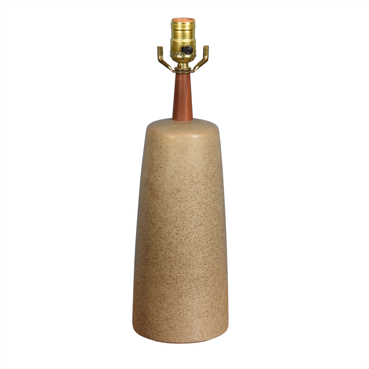 Martz Sand Colored Petite Table Lamp