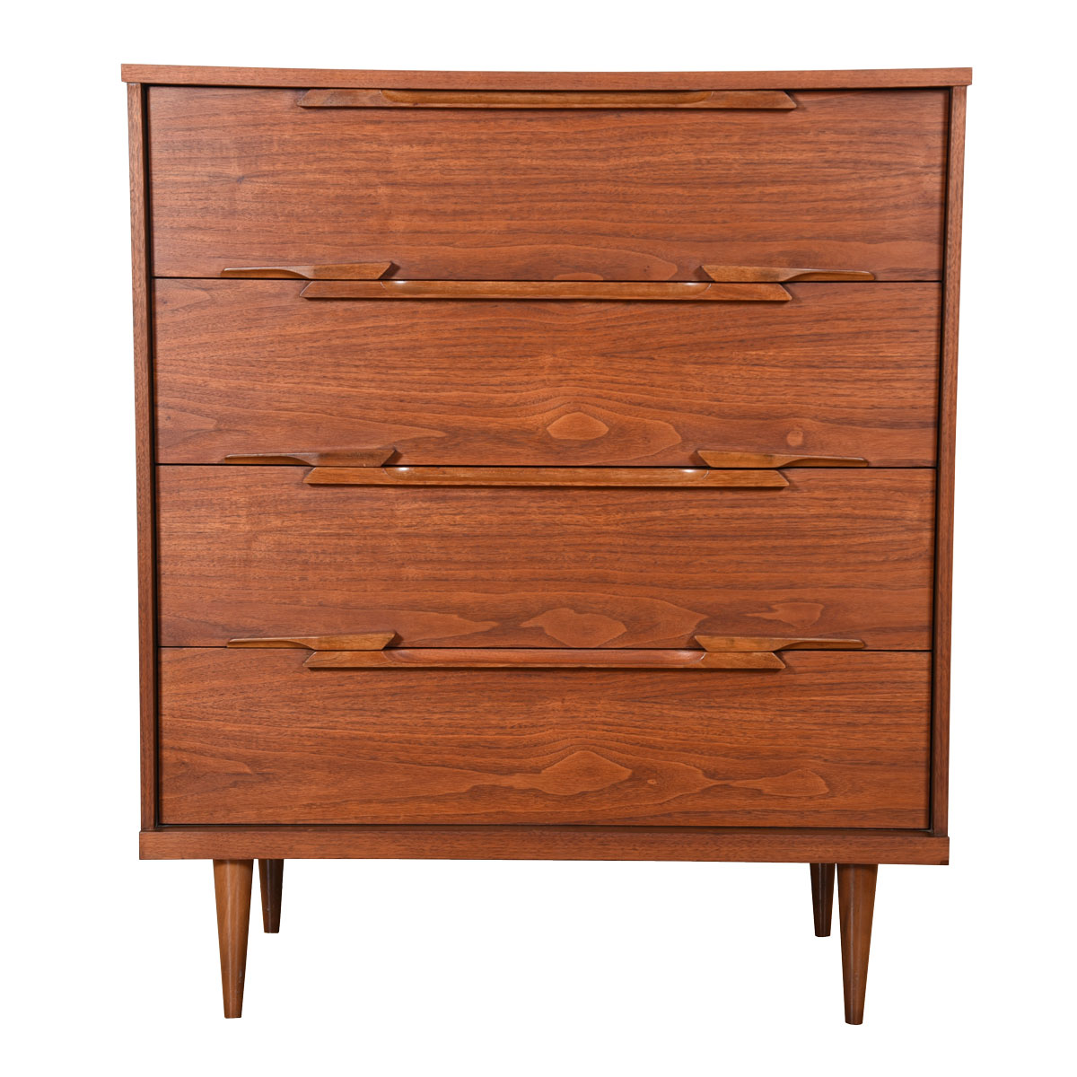 Subtle & Sculptural Chest with Heavenly Deep-Drawers