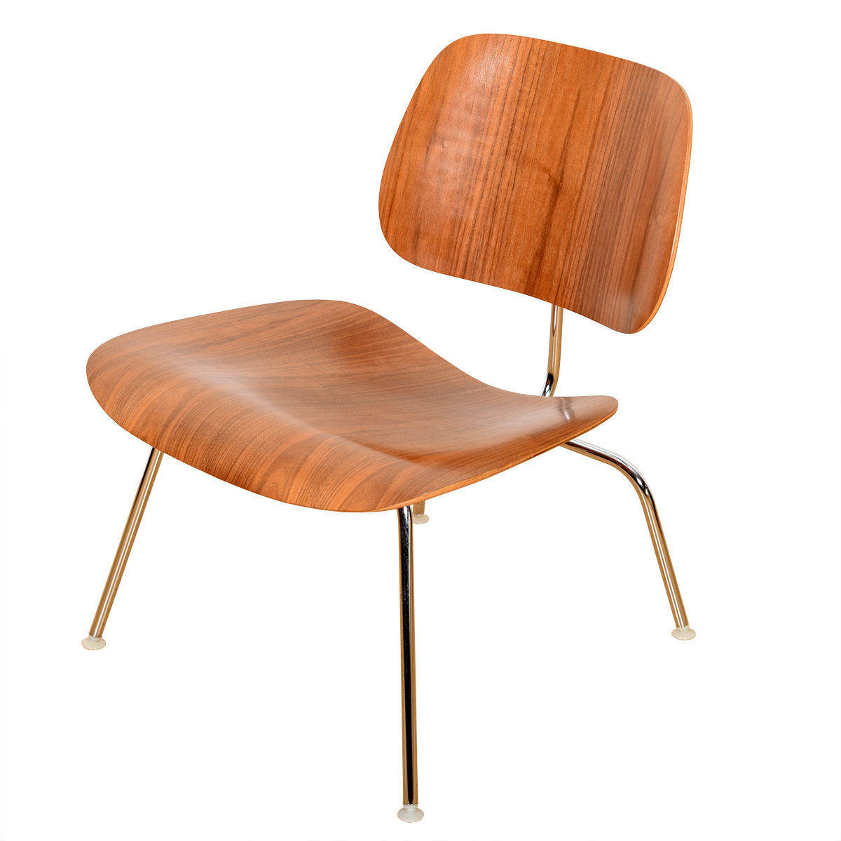 Authentic Eames Bentwood & Chrome Chair by Herman Miller