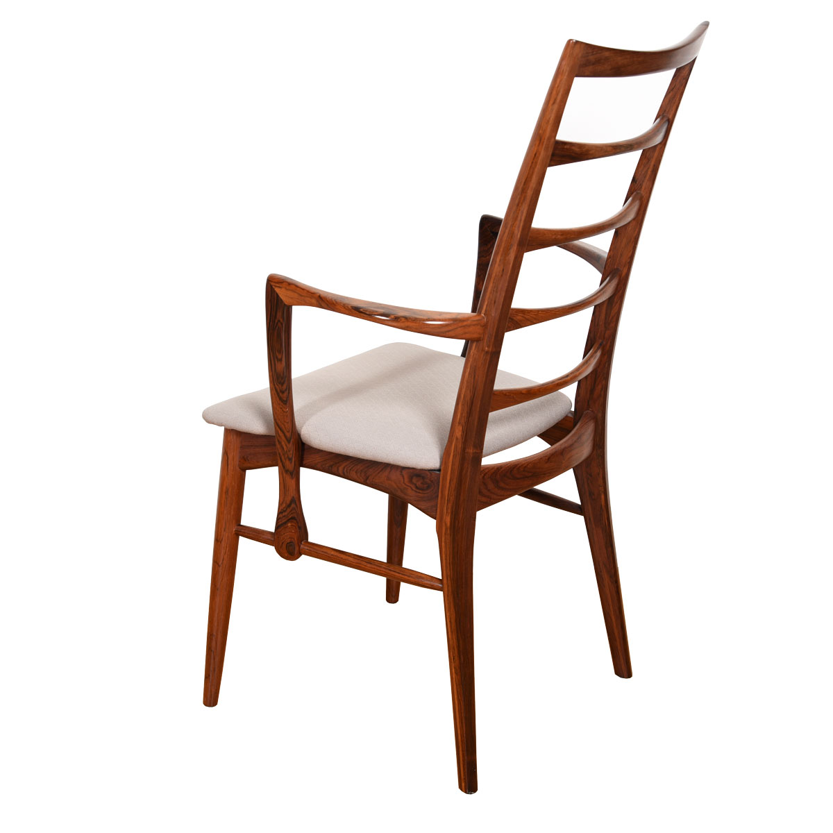 Set of 4 Koefoeds Hornslet Dining Chairs (2 Arm + 2 Side) in Rosewood
