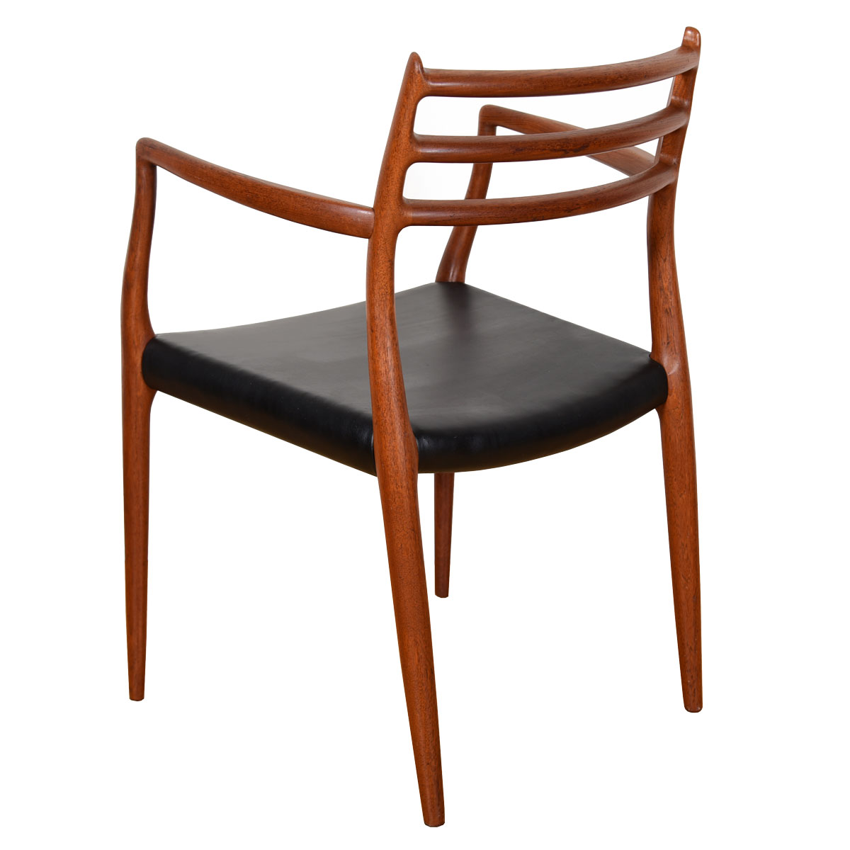 Set of 4 Niels Moller Teak Dining Chairs (2 Arm + 2 Side)