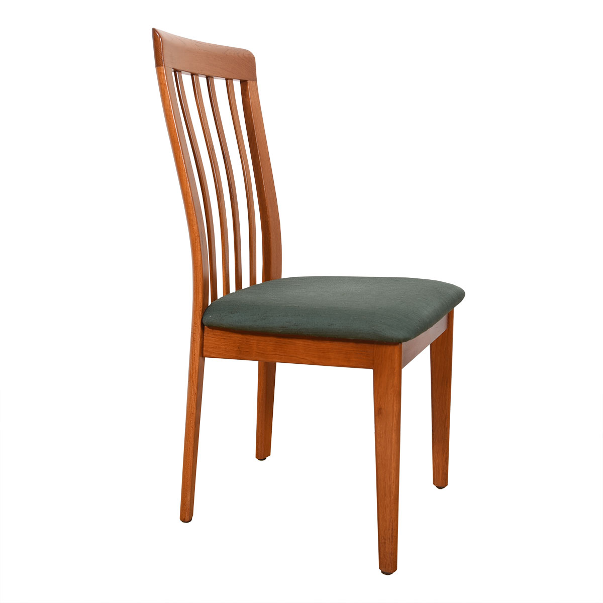 Set of 8 Tall Teak Canadian Modern Dining Chairs
