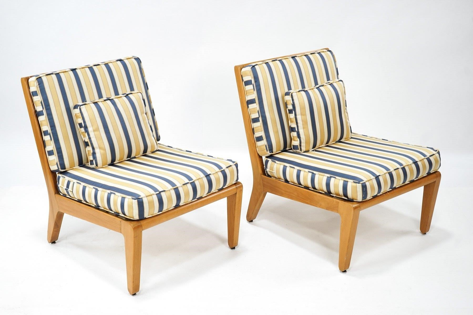 Pair of Edward Wormley Lounge Chairs for Drexel