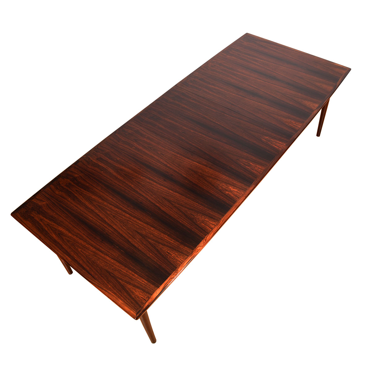 Sibast Danish Rosewood Expanding Dining Table by Arne Vodder