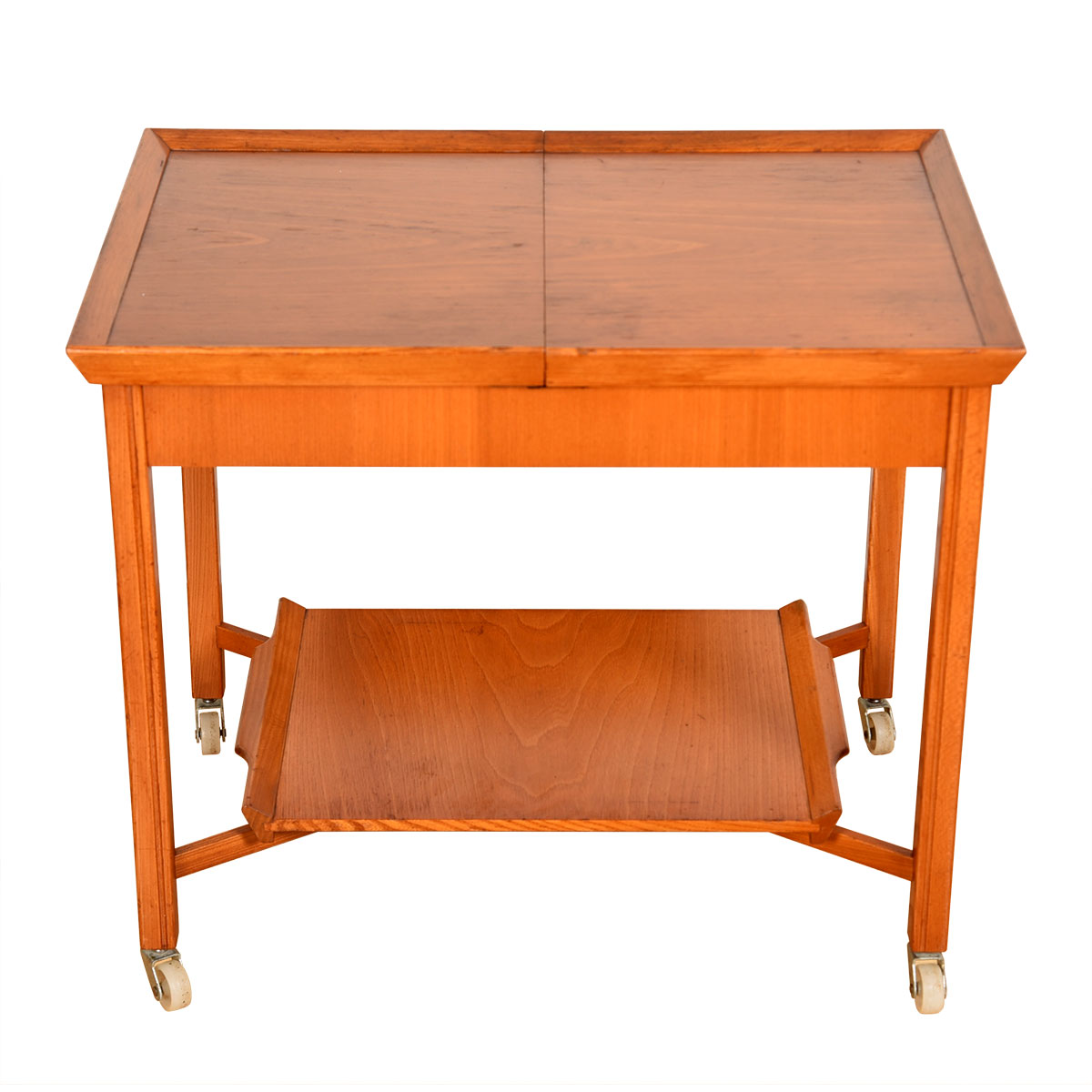 A Swedish Sliding-Top Sewing   Expanding Project Cart