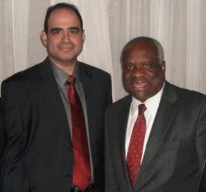 Dean and Justice Clarence Thomas