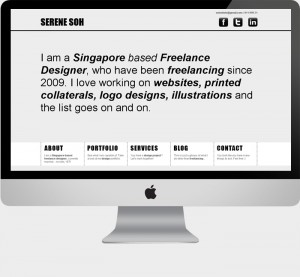Singapore Freelance Designer Portfolio