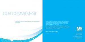 Brochure design for Media story