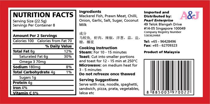 label design for otak packaging