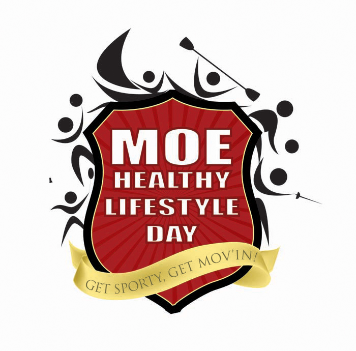 Logo design for MOE healthy lifestyle day