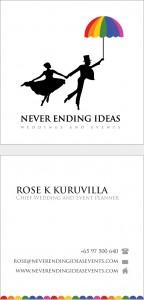 namecard design for never ending ideas