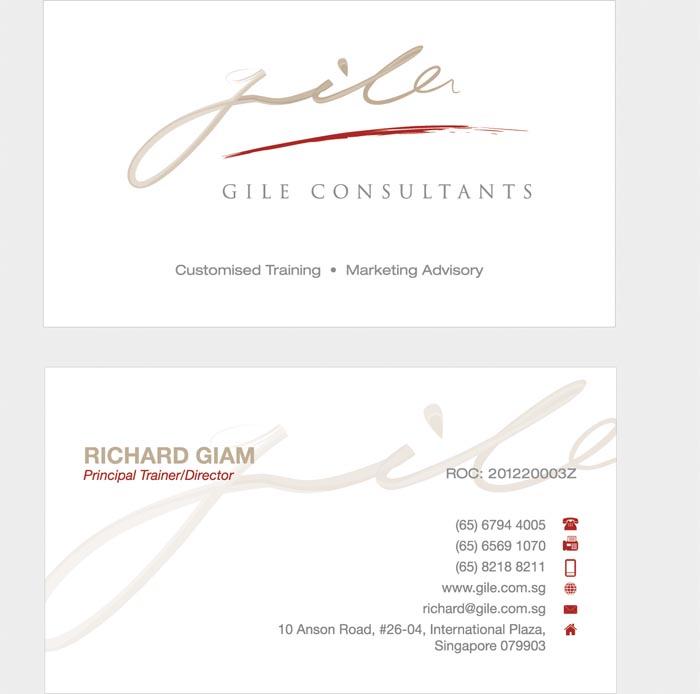 Branding design for Gile consultants